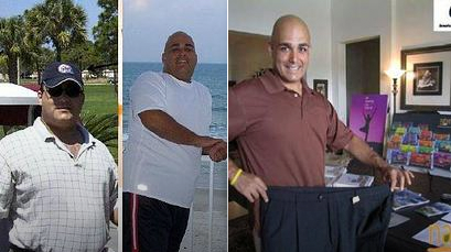 Anthony has now lost well over 100 pounds and kept it off!